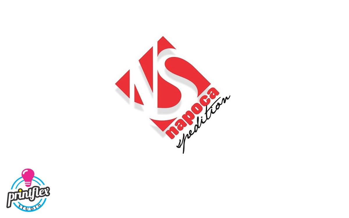 design logo napoca spedition