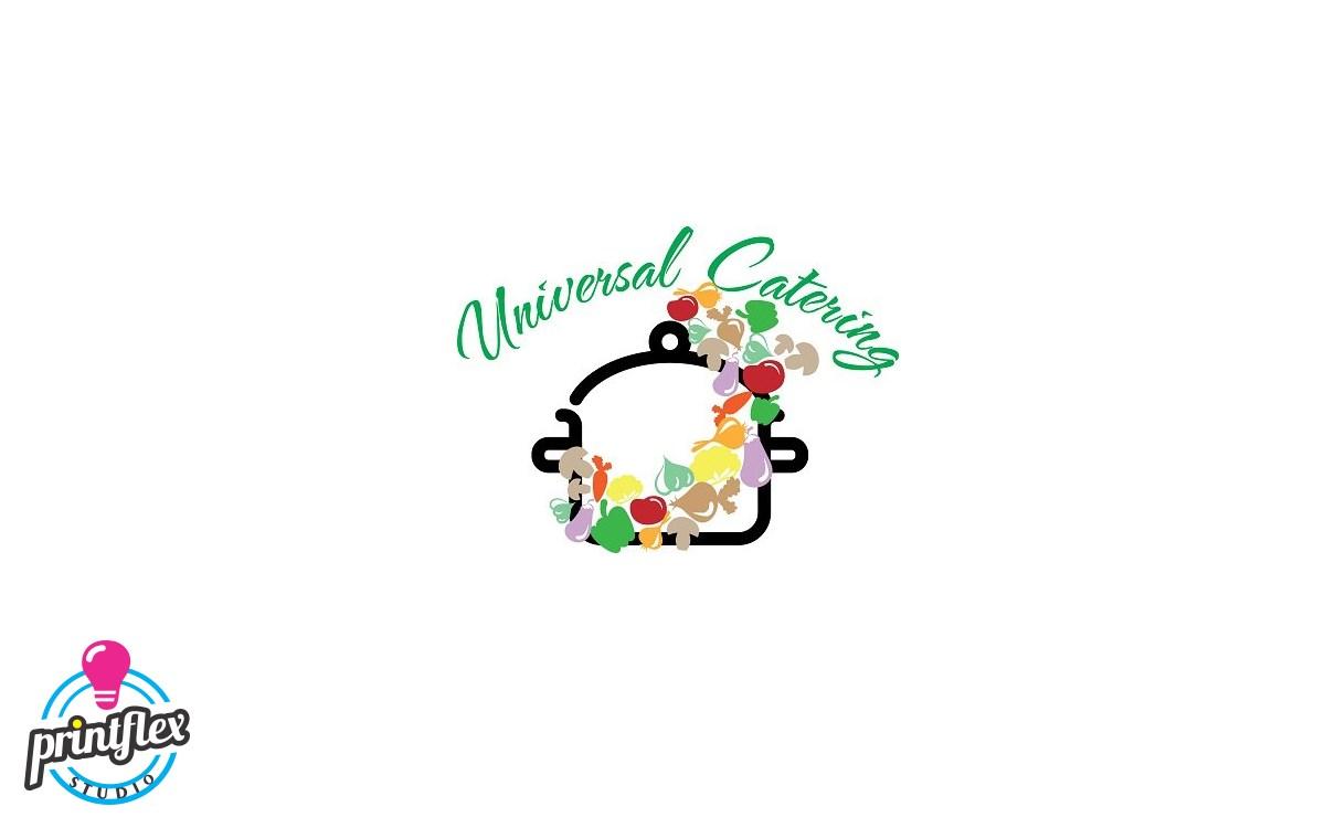 design logo universal catering